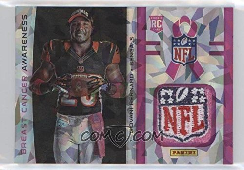2013 Panini Black Friday Breast Cancer Awareness NFL Shield Giovani Bernard RARE by