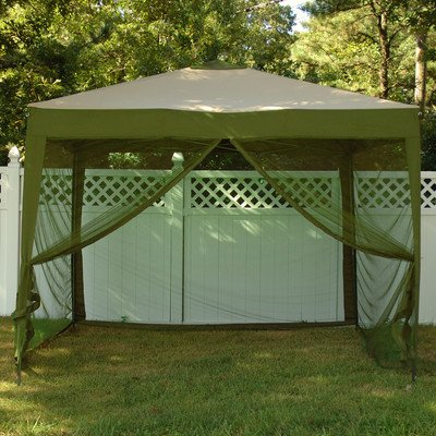 Stow-ez Pop-up 10 Ft. W x 10 Ft. D Gazebo Color: Sage Green