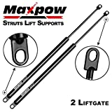 Maxpow 4715 Dodge Ramcharger 81-90, Plymouth Trailduster 1981 Liftgate Lift Supports Strut, Pack of 2