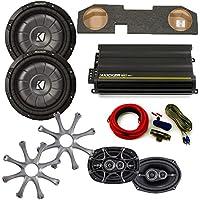 Kicker for Dodge Ram Quad / Crew Cab 02-15 Package Dual 12 CVT subs in box, DS 6x9s, 300 Watt CX Amp, Grills, Wire Kit