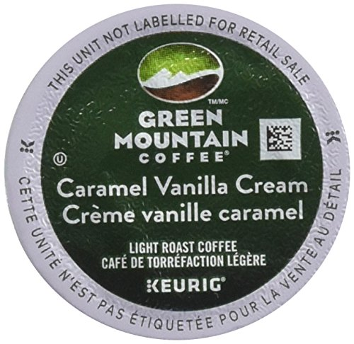 Green Mountain Coffee Caramel Vanilla Cream, K-Cup Section Pack for Keurig K-Cup Brewers (Pack of 48)