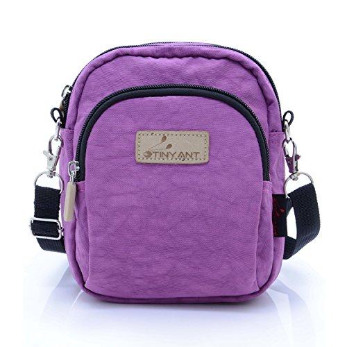 liangdongshop Women's 3 Layers Wristlet Purse Zipped Cell Phone Clutch Crossbody Handbags(Waist/Shoulder Bag-Light - Runners Sunglasses Inexpensive For