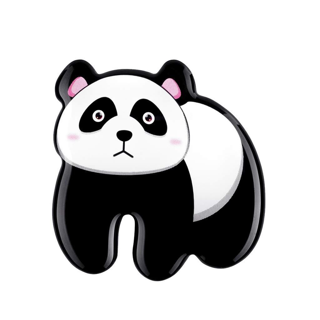 Conqueror 6 Autocollants de r/éfrig/érateur magn/étiques de s/érie de Panda Fat Mignon de Bande dessin/ée pour Coller des Notes sur Le frigo Une Grande d/écoration pour la Cuisine et Tenir Multi