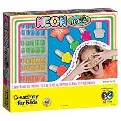 Creativity For Kids Neon Nails