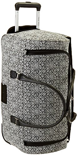 Ninewest Naia Wheeled City Bag, Black/White, One Size by Nine West