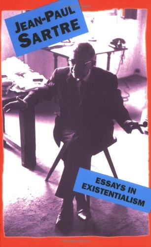 Essays In Existentialism [Jean-Paul Sartre] (Tapa Blanda)