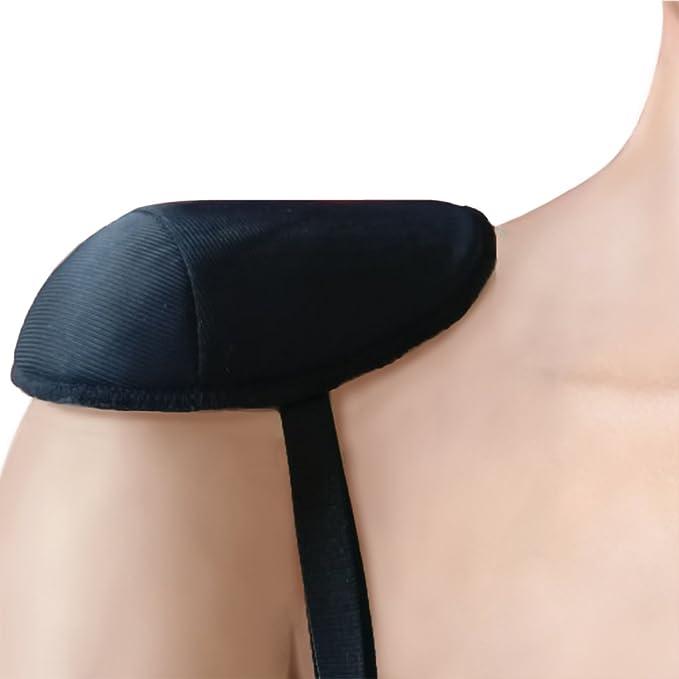 55a8b00fc8c8a Ann West Raglan Sleeve Shoulder Pads Style SPR6030 - Black at Amazon ...