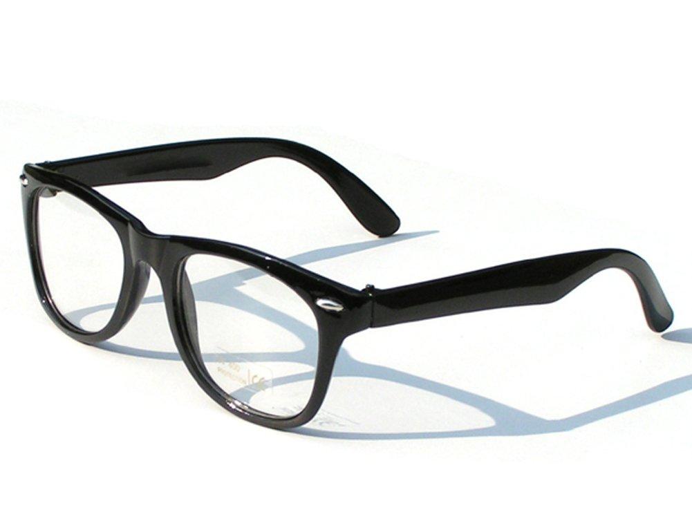 Tedd Haze Wayfarer Brille rot incl. Brillen Beutel: Amazon.de ...