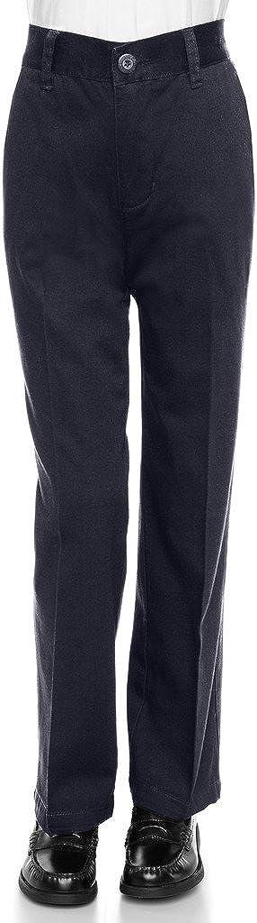 AKA Wrinkle Free Cotton Twill Pants Slim Fit Toddler Boys Cotton Twill Straight Leg