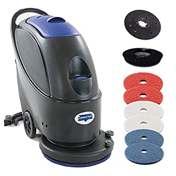 Diamond Products Crown G Corded Automatic Floor Scrubber W - Small industrial floor cleaning machines