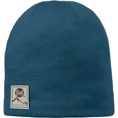 Buff Headwear Knitted & Polar Hat Solid, Ocean