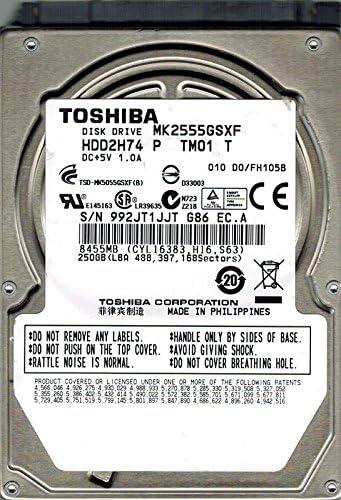 Toshiba MK2555GSXF HDD2H74 P TM01 T Philippines 250GB