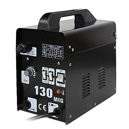 ZENY MIG 130 Welder Flux Core Wire Automatic Feed Welding Machine w/Free Mask (MIG130)