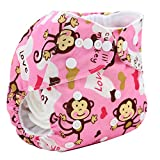 Cavalli Kids Baby Cloth Diaper Floral Cover Nappies Reusable (K4)