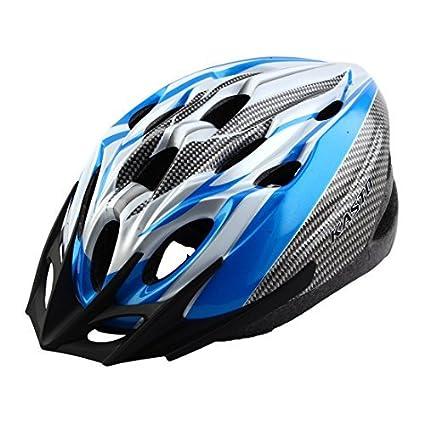 eDealMax adulti 18 Buche rimovibile visiera esterna Della protezione di Sport, Cappello portatile, Ciclismo