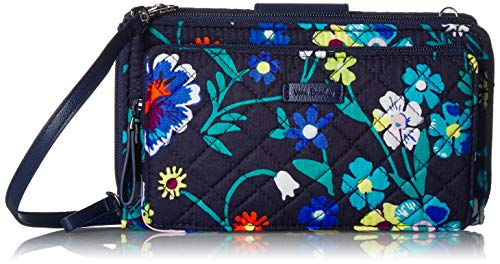 Vera Bradley Iconic Deluxe All Together Crossbody, Signature Cotton, Moonlight ()
