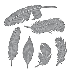 Spellbinders S4-428 Shapeabilities Feathers Etched/Wafer Thin Dies