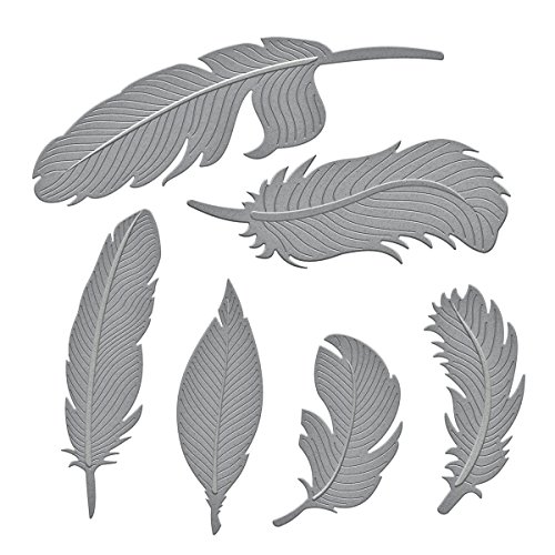 Spellbinders S4-428 Shapeabilities Feathers Etched/Wafer Thin Dies by Spellbinders