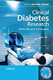 img - for Clinical Diabetes Research: Methods and Techniques book / textbook / text book