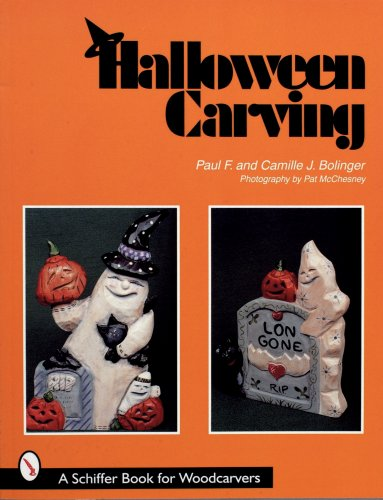 Halloween Carving (Schiffer Book for Woodcarvers) -