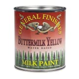 General Finishes PTR Milk Paint, 1 pint, Tuscan Red