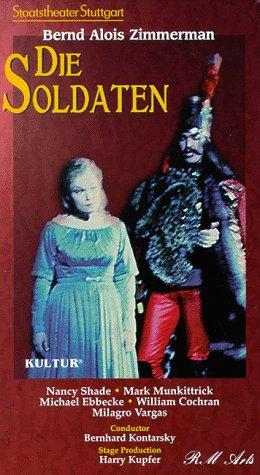 Zimmerman - Die Soldaten / Kontarsky, Staatstheater Stuttgart [VHS]