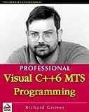 Visual C++ 6 MTS Programming, Richard Grimes, 1861002394