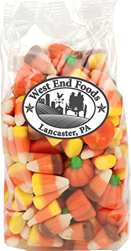 Halloween Mellocreme Candy Corn (12 oz Bag) with Pumpkins for Fall Decorative Candy Dish, Jar, or Buffet Table (Pumpkin Candy Corn Gift)