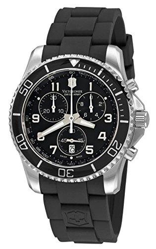 Victorinox Swiss Army Men's 241431 Maverick Chronograph Black Dial Watch