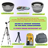 DELUX LENS KIT FOR CANON OPTURA 600 400 500 30 40 50 60