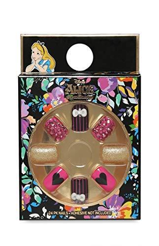 Disney Alicia en el País de las Maravillas Uñas Postizas: Amazon.es: Belleza
