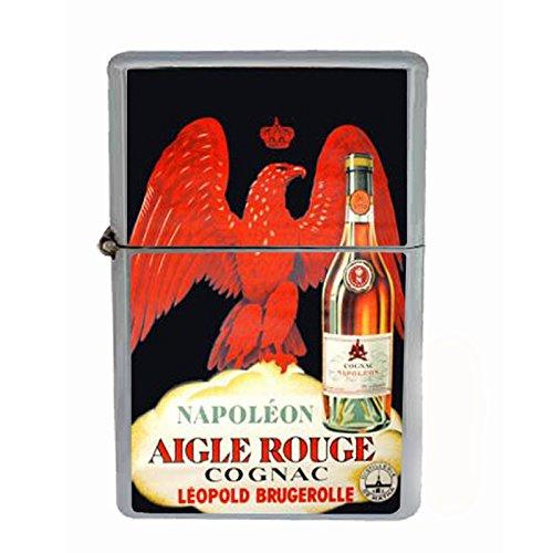 Cognac Napoleon Vintage Poster Dual Torch Lighter D-099 ()