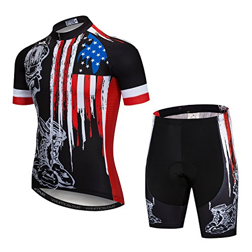 Cycling Jersey and Shorts Set Men Breathable Bike Shirt Summer Outdoor Youth  Bicycle Clothing XL 8aaf9f56f