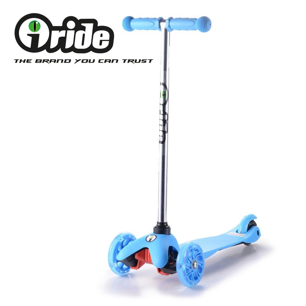 iRide Scooter, Patinete de 3 Ruedas con luz LED de para ...
