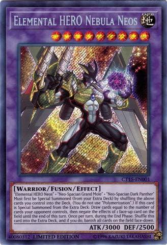 Elemental Hero Neos Secret Rare Limited Edition