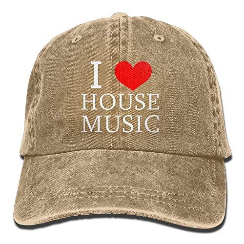 Hats Cowboy Music Women Men House Love Sport Denim Cap Cowgirl Hat Skull I for BxA6v