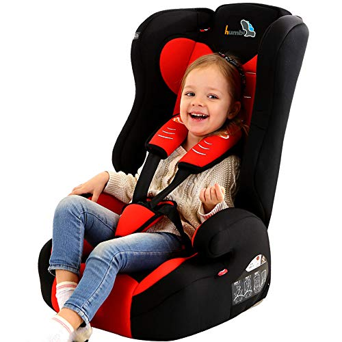 YOTAYA Child car seat 9 months-12 Years Old car seat 3C Certification,Red (Car Seats 9 Months To 12 Years)