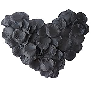 Generic Fabric Silk Flower Rose Petals Wedding Party Decoration Table Confetti Package of 1000