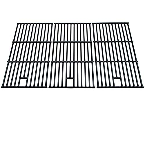 (Direct store Parts DC123 Porcelain Cast Iron Cooking grid Replacement Brinkmann, Charmglow, Costco Kirkland, Jenn Air, Members Mark, Nexgrill, Perfect Flame, Sams Club Gas Grill)