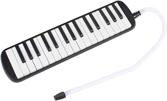 Sharplace 32 Teclas de Piano Melodica Instrumento Musical con Boquilla de Caja Accesorios