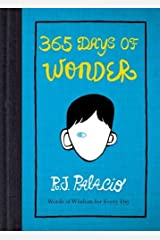 365 Days of Wonder by R J Palacio (2014-08-28) Hardcover