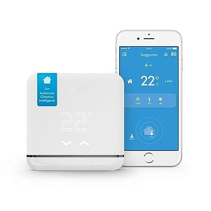 9ff4bbc533322b Echo Dot tessuto grigio chiaro + Climatizzazione Intelligente tado° V2 -  Assistente Climatico Intelligente per