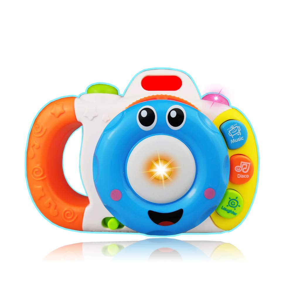 KIDTOY Camera Toy for 1-6 Year Old Boy Girl Kid- Best Gift Camera Toy 6-18 Months Baby Girl Education Toy for 1-2 Year Old Girl Kid Birthday Gift for 1-3 Year Old Boy Children for Babies TOYKID