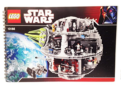 Instruction Manuals For Lego Star Wars Set 10188 Death Star Buy