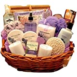 Exquisite Lavender Spa Gift Basket for Her