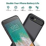 Battery case for iPhone 8 Plus/7 Plus/6 Plus/6s