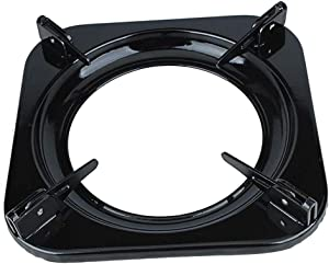 Wok Support Ring, Wok Ring Gas Stove - Cooktop Gas Stove Rack Trivets, Pot Support Ring, Pan Holder Stand, Milk Pot Holder, Gas Stove Accessories, Cooking Kitchen Accessories (Square)