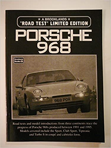 Porsche 968 Limited Edition (Limited Editions): R.M. Clarke: 9781855203884: Amazon.com: Books