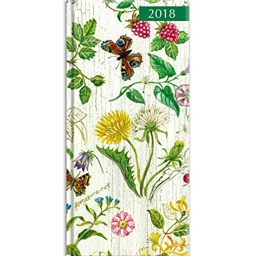 2018 Beauty of Nature Pocket Diary - 3.34 x 6.8 x 0.47 Inches