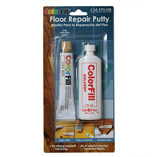 cal-flor-bp42693-color-fill-color-matched-repair-putty-blister-pack-with-solvent-medium-oak